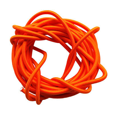 Elastic Bungee Shock Stretch Cord per trasportare Crafting 5mmx3m Orange