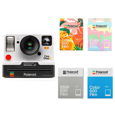 Polaroid Originals OneStep2 Viewfinder i-Type White Camera + Film (Choose Film)