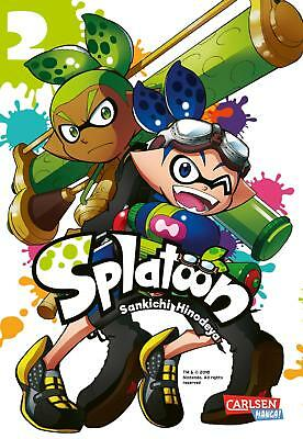 Splatoon 2 - Deutsch - Carlsen Manga - NEUWARE