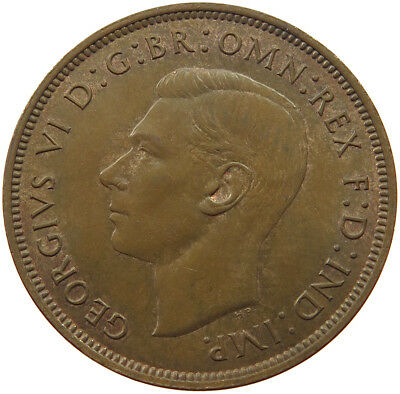 GREAT BRITAIN PENNY 1938   #qu 411