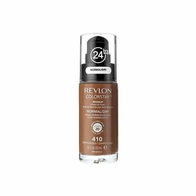 Revlon Colorstay Foundation Normal Dry Skin Cappuccino (PACK OF 2)
