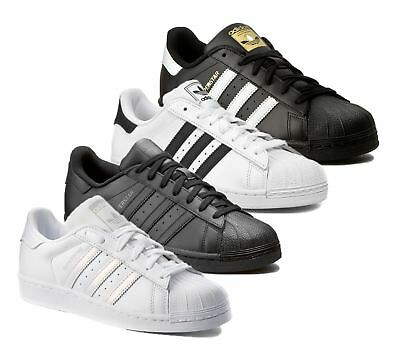 Adidas Originals Mens Superstar Leather Casual Designer Trainers Shoes Sneakers