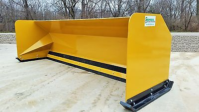 10' Snow pusher boxes FREE SHIPPING-RTR backhoe loader snow plow Express Steel