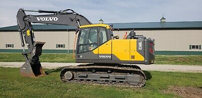 2017, Volvo, 160E, Excavator, thumb, LOADED - ONLY 72 Hours!