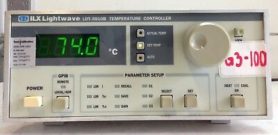 ILX Lightwave LDT5910B Thermoelectric Temperature Controller
