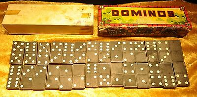 1940's WWII Wooden Coca Cola Dominoes