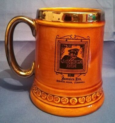 Lord Nelson Hand Crafted Pottery Tankard Jamaica Inn Bodmin Moor Cornwall (C241)