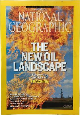 PRE-OWNED National Geographic March 2013 Geo Magazine CK309