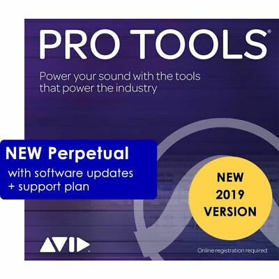 Avid Pro Tools 2018 Digital Audio Workstation Perpetual W/ 1-Year Upgrade Plan