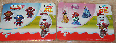 ORIGINAL Kinderino  Marvel Twisthead + Disney Prinzess 3 D Sticker CHINA RAR!!!!