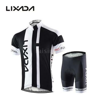 Hommes respirant Quick Dry Comfortable Jersey à manches courtes + Shorts N0A4