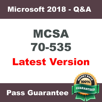 MCSA Exam 70-535 - Architecting Microsoft Azure Solutions - Q&A - dump - (2018)