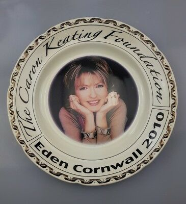 ~28~ Caron ~ Keating ~ Foundation ~ Plate ~ Cornwall ~ 2010 ~ Fosters ~ Pottery