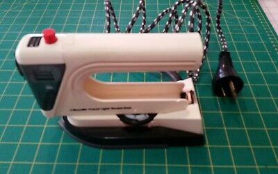 Vintage Breville Travel Light Steam Iron - Works - 1970S