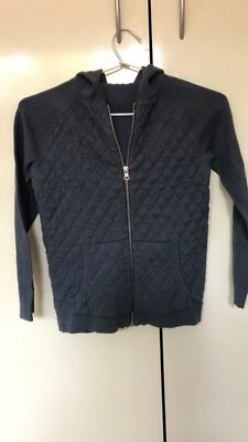 Sees Boys Size 6-7 Zip Up Jumper