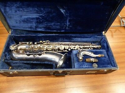 Vintage Saxophone Tenor Weltklang Germany with Vito Melodia mouthpiece