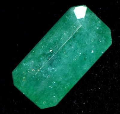 6.45 Ct Natural Green Emerald Loose Gemstone Zambian GGL Certified UNTREATED