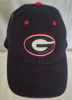 536a71be0aa GEORGIA BULLDOGS NCAA One Size One Fit Hat Cap UGA Top of the World ...