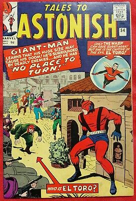 Tales to Astonish 54 Marvel Silver Age 1964 No Place to Hide vf