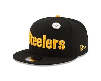 PITTSBURGH STEELERS NEW Era PIN SNAP 9Fifty Snapback NFL Adjustable ... 210784f94