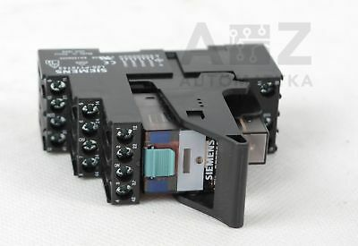 10 X Siemens LZX PT570730 4PDT Non-Latching Relay, 230VAC, 6A, WITH FREE BASE