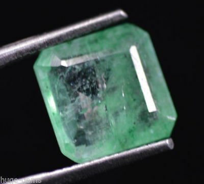 2.70 Ct Natural Green Emerald Loose Gemstone Zambian EGL Certified UNTREATED