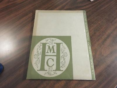 HMC Hickory Manufacturing Company Crystal Palace Faubourg Furniture Brochures NC