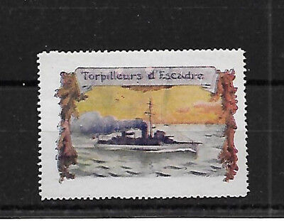 Torpedo Boat - Ship Poster Stamp - No Gum