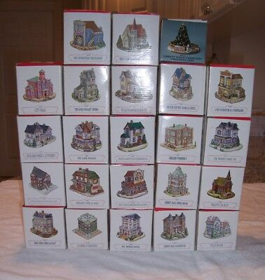 Lot 23 Liberty Falls Americana Collection Series  Variety Of Buildings