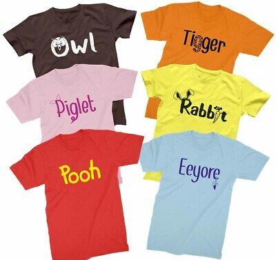 Pooh T-shirt Disney Winnie the Pooh Bear red costume cosplay Shirts all sizes