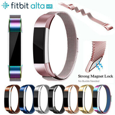 Milanese Strap Stainless Steel Replacement Spare Band Strap For Fitbit Alta HR