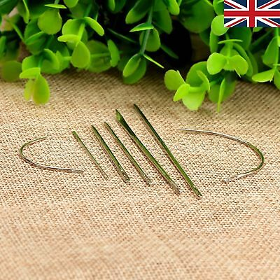 7Pcs Hand Repair Upholstery Sewing Needles Carpet Leather Sewing Tools UK STOCK