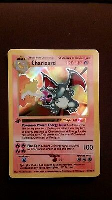 first edition shadowless charizard