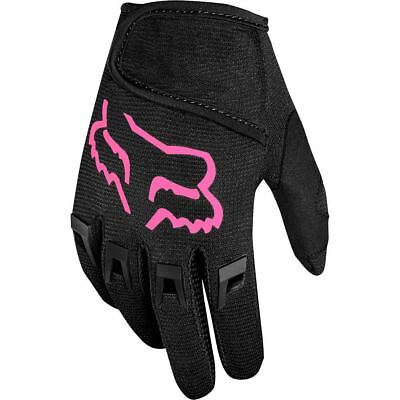 NEW Fox Racing 2019 Kids MX Dirtpaw Black Pink Girls Toddler Motocross Gloves