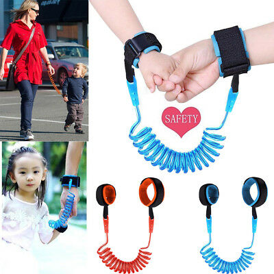 Kids Safety Leash Anti Lost Wrist Strap Baby Walk Child Toddler Link Harness New