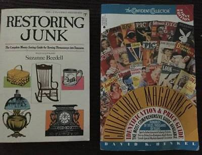 Books: Price Guide Magazines '93 lst Ed. & Restoring Junk '70 PBs #113