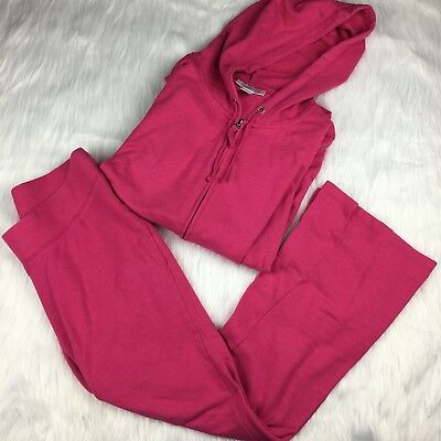 17103fc4dc1f8 Motherhood Maternity Medium Tracksuit Hot Pink Hoodie Set Loungewear  Activewear