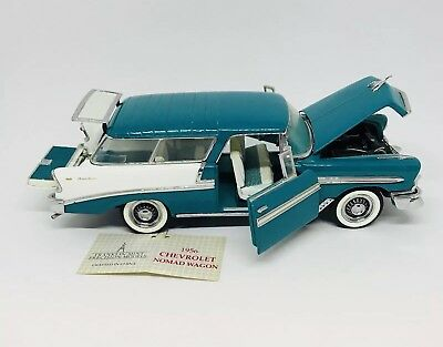 Franklin Mint 1956 Chevrolet Nomad Wagon 1 24 Scale Diecast Model Car