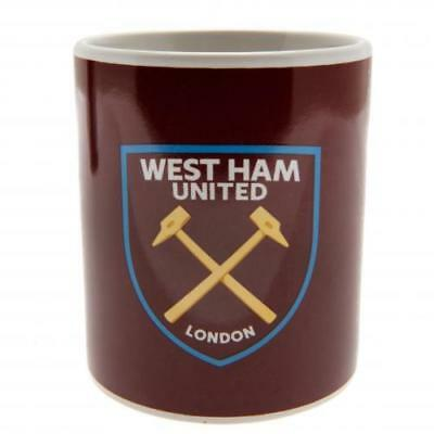 WEST HAM UNITED FC Mug Cup FD Ceramic Coffee Tea Gift Official Product