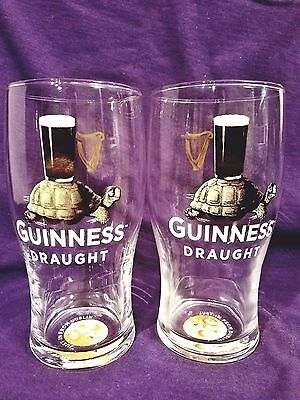 Pair Of New Guinness Limited Edition Pint Glasses