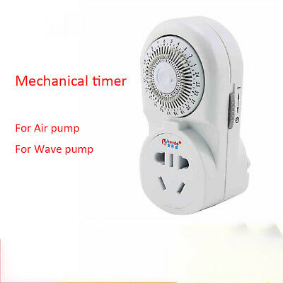 30 min - 24 hours Mechanical Time Control Digital Timer Rotatable Socket*Switch