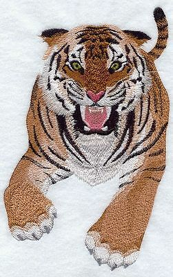 """Tiger Wild Animal, Exotic Cat Embroidered Patch 5.8""""x9"""""""