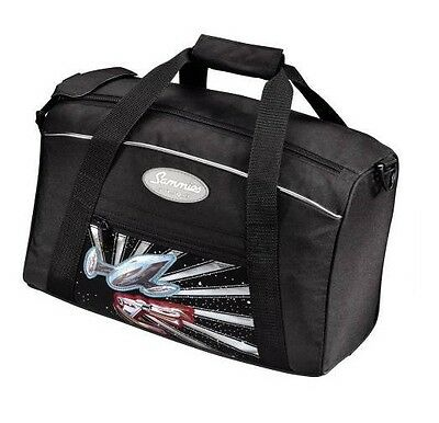 "Sammies by Samsonite® Optilight Sporttasche Schwarz ""Spaceship"" Raumschiff - NEU"