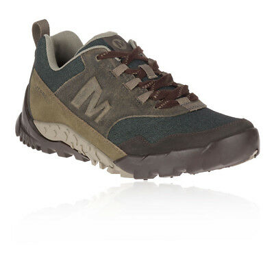 Merrell Mens Annex Recruit Shoes Black Brown Sports Outdoors Waterproof Trainers