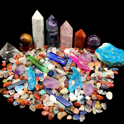 Beautiful A lot of Natural Quartz Crystal Obelisk&Ball Mineral Specimens Rough