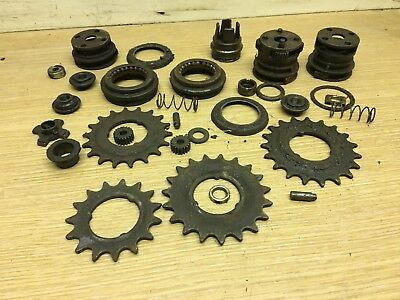 Joblot Of Vintage Sturmey Archer 3 Speed Hub Spares Retro Bike Part #3372