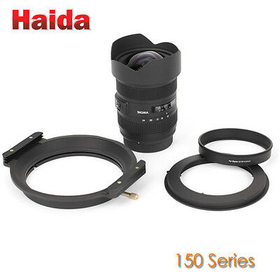 Haida 150mm Filter Holder for Sigma 12-24 F4.5-5.6 DG HSM II Lens