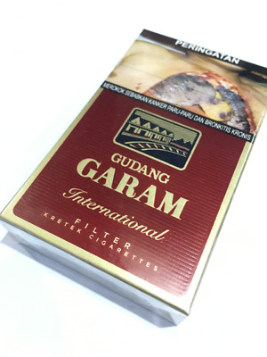20 Packs Gudang Garam International 20x12 Stick Filtered Unopened