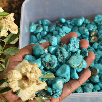 Natural Blue Turquoise 50-70 Ct. Approx Arizona Crystal Healing Rough Per Piece