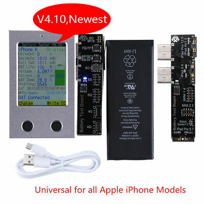 Newest Apple iPhone Battery Tester For iPhone Battery Checker a Key Clear Cycle